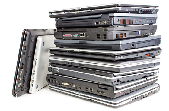 Stack-of-laptops