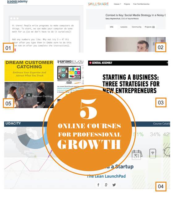 5-Ecourses-for-professional-growth