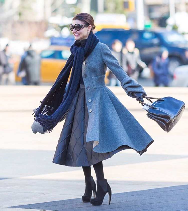 Stylish woman in NYC. Image by Denton Taylor